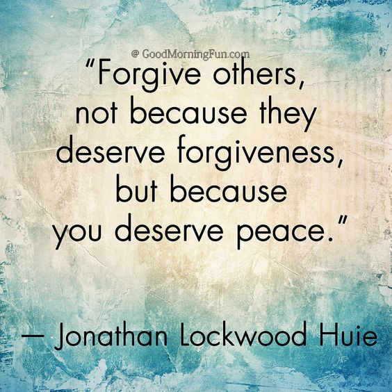 Forgive And Peace Quotes Surviving Church